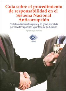 GUIA SOBRE EL PROCEDIMIENTO DE RESPONSABILIDAD EN EL SISTEMA NACIONAL ANTICORRUPCION