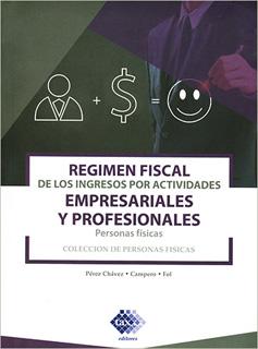 REGIMEN FISCAL DE LOS INGRESOS POR ACTIVIDADES...