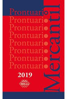 PRONTUARIO MERCANTIL 2019
