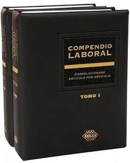COMPENDIO LABORAL CORRELACIONADO 2020 (2 TOMOS)