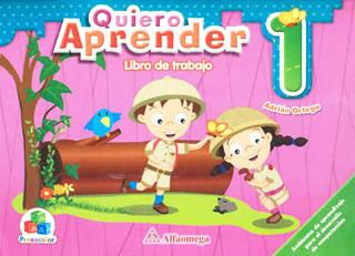 QUIERO APRENDER 1 LIBRO DE TRABAJO