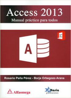 ACCESS 2013 MANUAL PRACTICO PARA TODOS