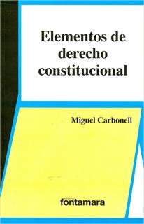 ELEMENTOS DE DERECHO CONSTITUCIONAL