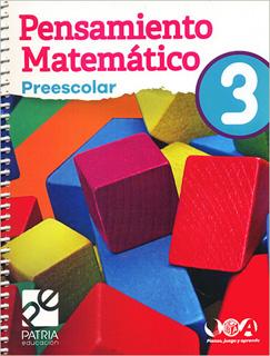 PENSAMIENTO MATEMATICO 3 PREESCOLAR
