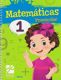 MATEMATICAS 1 PREESCOLAR