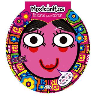 MEXICANITAS: MASCARAS PARA COLOREAR