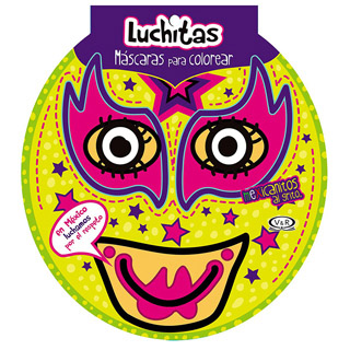 LUCHITAS: MASCARAS PARA COLOREAR