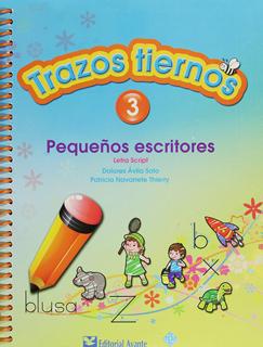TRAZOS TIERNOS 3 PEQUEÑOS ESCRITORES PREESCOLAR