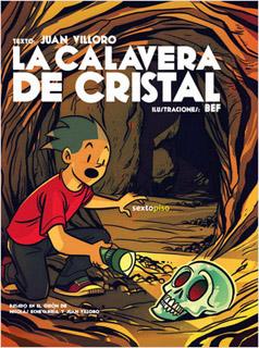 LA CALAVERA DE CRISTAL (NOVELA GRAFICA)
