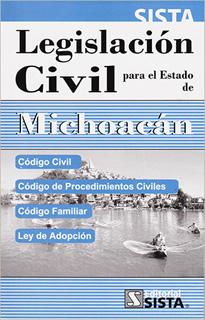 LEGISLACION CIVIL PARA EL ESTADO DE MICHOACAN