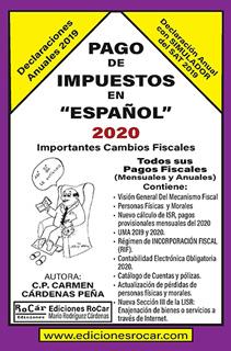 PAGO DE IMPUESTOS EN ESPAÑOL 2020