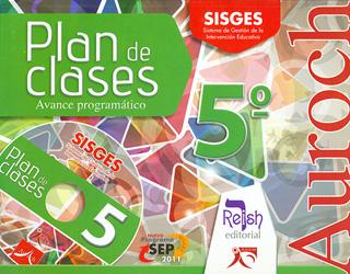 AUROCH PLAN DE CLASES 5º PRIMARIA AVANCE...