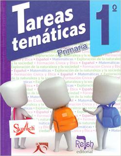 TAREAS TEMATICAS 1º PRIMARIA