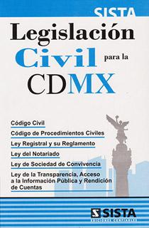 LEGISLACION CIVIL PARA LA CIUDAD DE MEXICO 2020