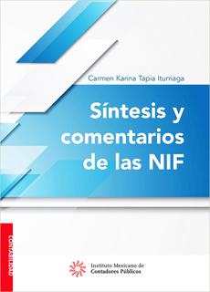 SINTESIS Y COMENTARIOS DE LAS NIF