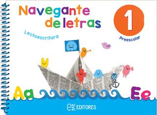 NAVEGANTE DE LETRAS 1 LECTOESCRITURA