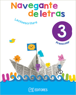 NAVEGANTE DE LETRAS 3 LECTOESCRITURA