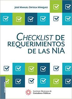 CHECKLIST DE REQUERIMIENTOS DE LAS NIA (2017)