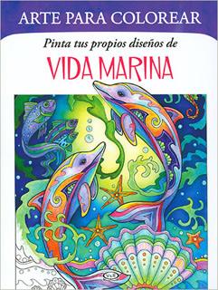 PINTA TUS PROPIOS DISEÑOS DE VIDA MARINA