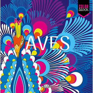 COLOR BLOCK: AVES (MANDALAS)