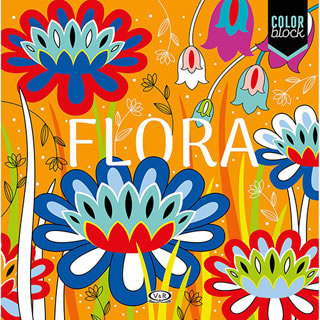 COLOR BLOCK: FLORA (MANDALAS)
