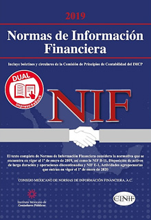 NORMAS DE INFORMACION FINANCIERA (NIF) 2019 (VERSION DUAL)