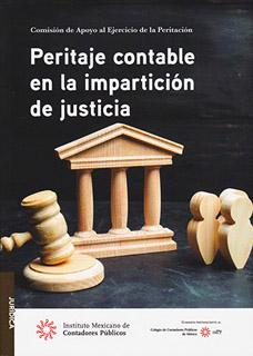 PERITAJE CONTABLE EN LA IMPARTICION DE JUSTICIA