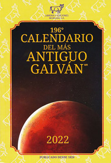 194 CALENDARIO DEL MAS ANTIGUO GALVAN 2020...