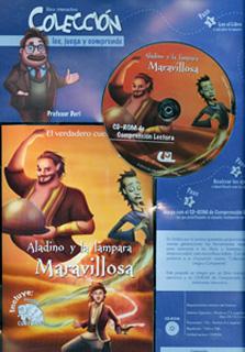 ALADINO Y LA LAMPARA MARAVILLOSA (INCLUYE CD)
