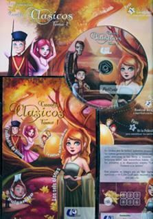 CUENTOS CLASICOS TOMO 1 (INCLUYE DVD)