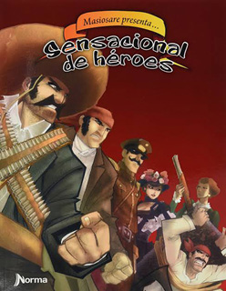 SENSACIONAL DE HEROES (NOVELA GRAFICA)
