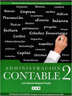 ADMINISTRACION CONTABLE 2 SECUNDARIA