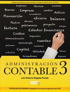 ADMINISTRACION CONTABLE 3 SECUNDARIA