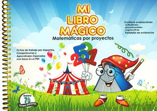 MI LIBRO MAGICO 3 MATEMATICAS POR PROYECTOS...