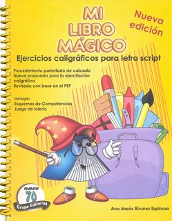MI LIBRO MAGICO EJERCICIOS CALIGRAFICOS PARA...