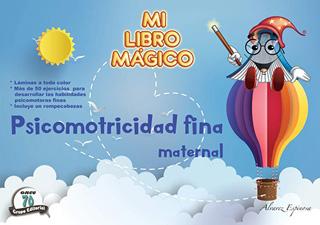 MI LIBRO MAGICO PSICOMOTRICIDAD FINA MATERNAL