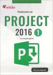 PLANIFICACION CON PROJECT 2016 - 1