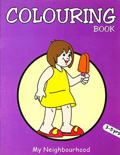 COLOURING BOOK: MY FAVOURIT OBJETS (NIÑA CON...