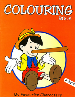 COLOURING BOOK: MY FAVOURIT OBJETS (PINOCHO) (3-5...