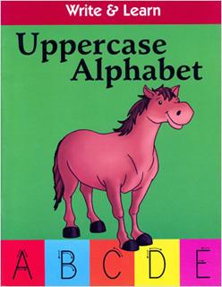 WRITE & LEARN: UPPERCASE ALPHABET