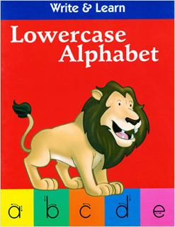 WRITE & LEARN: LOWERCASE ALPHABET