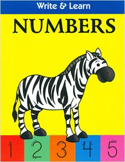 WRITE & LEARN: NUMBERS