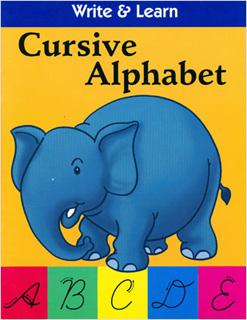WRITE & LEARN: WRITE & LEARN: CURSIVE ALPHABET