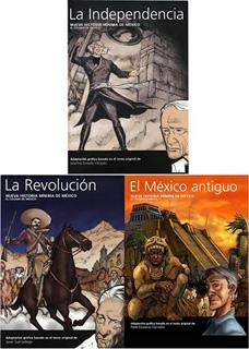 PAQUETE HISTORIA MINIMA DE MEXICO (LA REVOLUCION,...