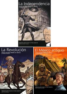 SEGUNDO PAQUETE NUEVA HISTORIA MINIMA DE MEXICO...