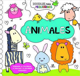 DOODLES PARA PEQUEÑINES: ANIMALES