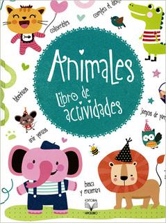 ANIMALES: LIBRO DE ACTIVIDADES BUSCA Y ENCUENTRA