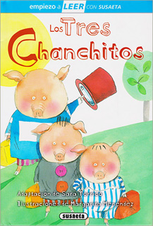 LOS TRES CHANCHITOS (COCHINITOS) (SERIE AZUL)