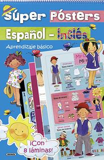 SUPER POSTERS ESPAÑOL - INGLES: APRENDIZAJE...