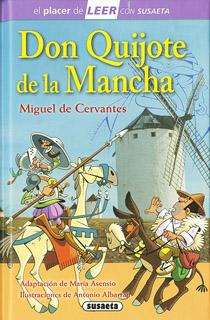 DON QUIJOTE DE LA MANCHA (SERIE MORADA)